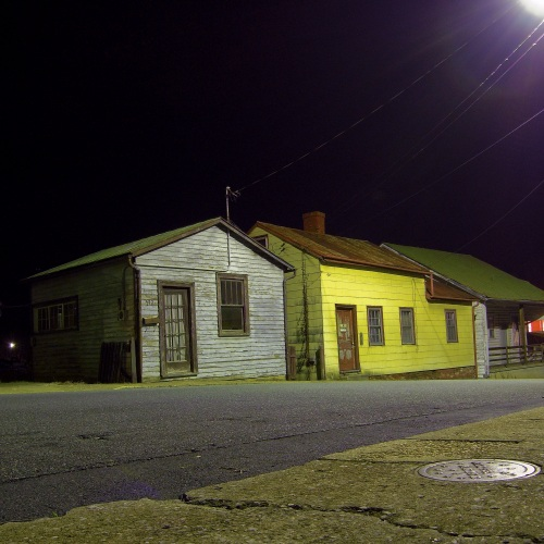 "Barber Shop at Night (from ""Box of Contents"")"