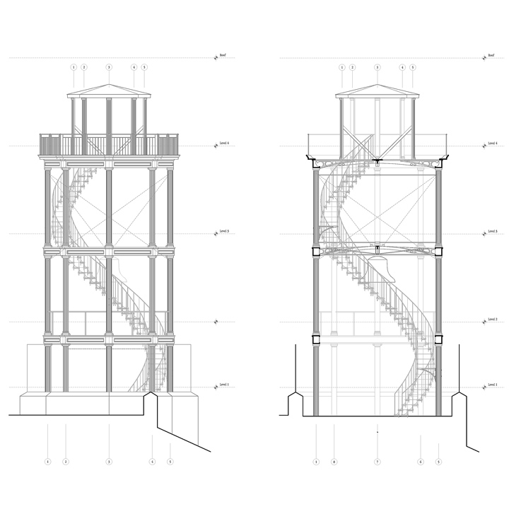 Fire tower building plans house plans home designs for Tower house plans