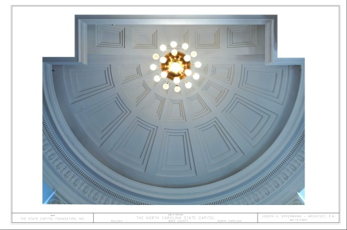 Ceiling to the Senate Chamber