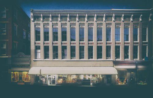 Facade on West beverley Street Staunton, VA