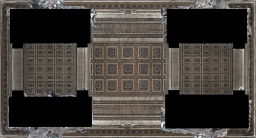 Reflected Ceiling Plan of vaults