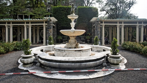 The Rose Garden Fountain at Kykuit