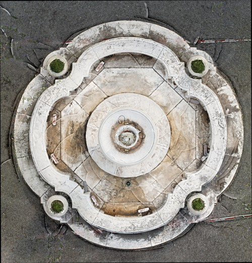 Plan View of the fountain