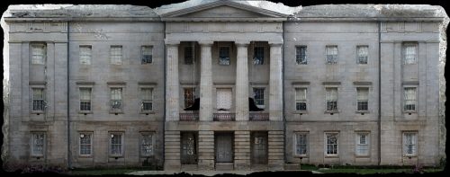 East Elevation of the North Carolina State Capitol.