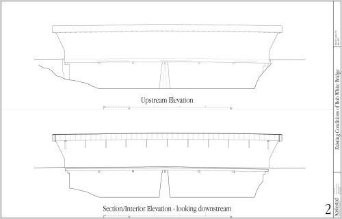 Measured Drawings of Bridge Exterior