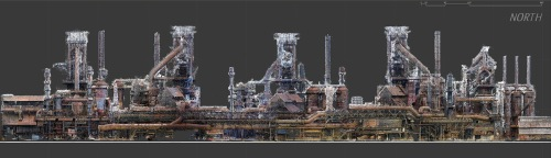 Blast Furnace Point Cloud