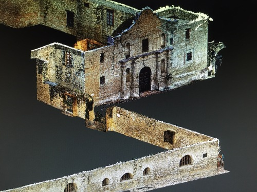 The Alamo: orthogonal view