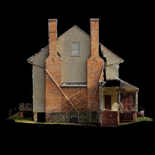 side of point cloud