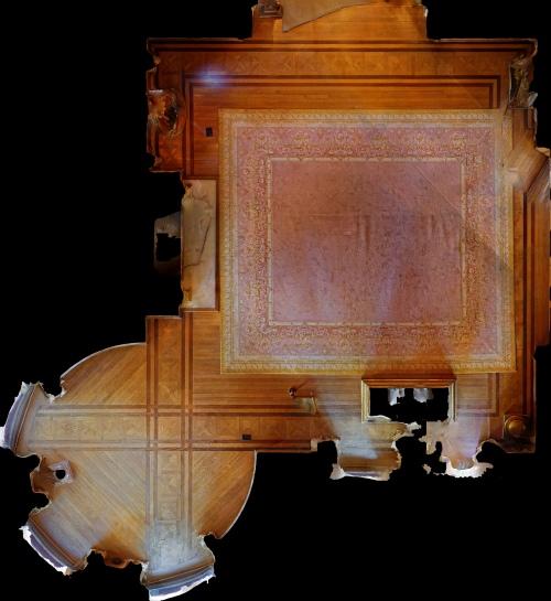 Orthophoto of Floor Plan