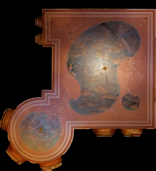 Orthophoto of Reflected Ceiling Plan