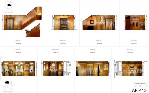 Interior Elevations featuring orthophotography