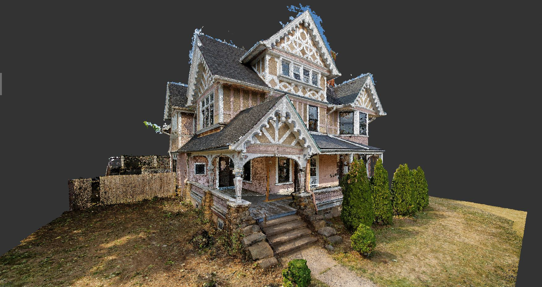 Snapshots Of A 3D Point Cloud